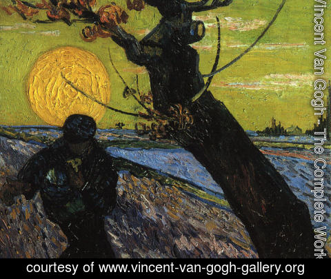Vincent Van Gogh - The Sower 2