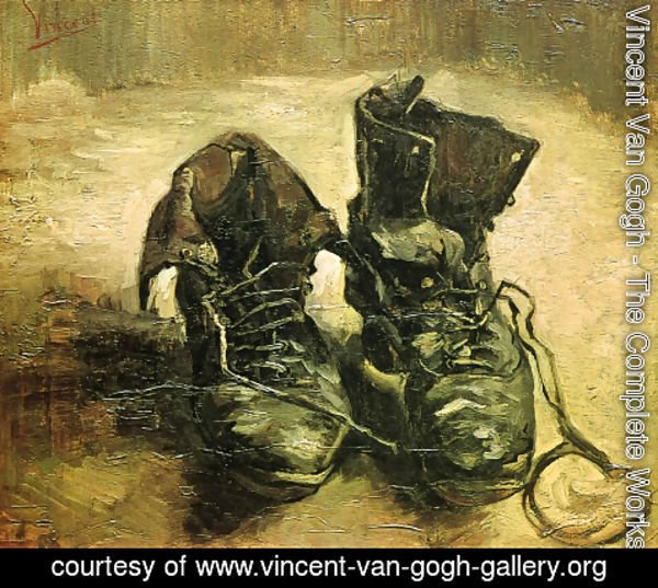 Vincent Van Gogh - The Complete Works - A Pair of Shoes - vincent ... 0a7826d93