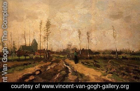 Vincent Van Gogh - Landscape with Church and Farms
