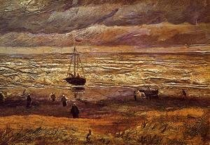 Vincent Van Gogh - The Beach at Scheveningen