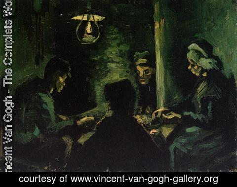 Vincent Van Gogh - Four Peasants at a Meal