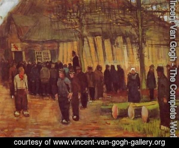 Vincent Van Gogh - A Wood Auction