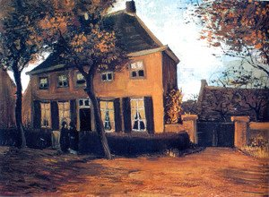 Vincent Van Gogh - The Parsonage at Nuenen