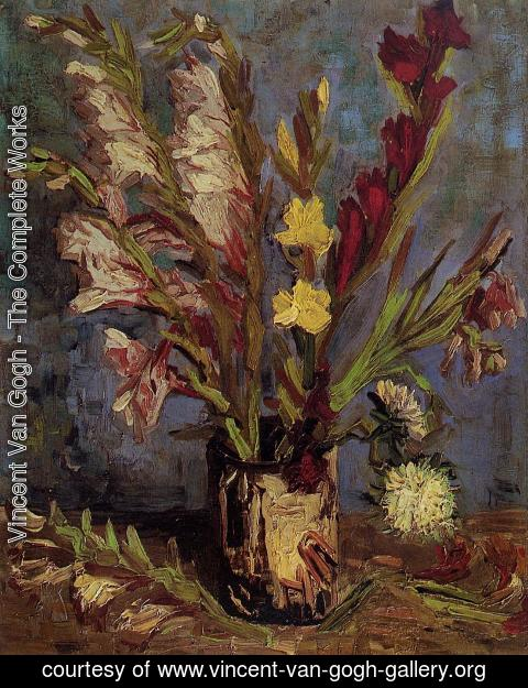 Vincent Van Gogh - Vase with Gladioli 2