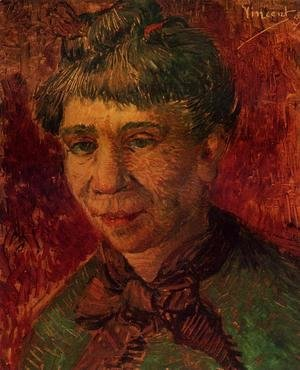 Vincent Van Gogh - Portrait of a Woman I
