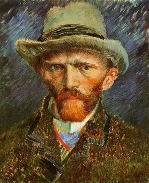 Vincent Van Gogh - Self Portrait with a Grey Felt Hat