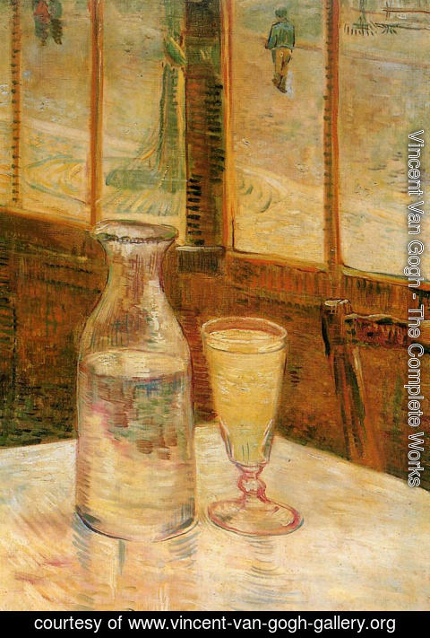 Vincent Van Gogh - Still Life with Absinthe
