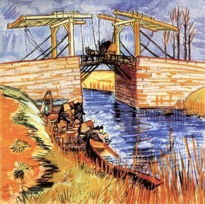 Vincent Van Gogh - The Langlois Bridge at Arles 2