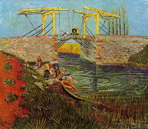 Vincent Van Gogh - The Langlois Bridge at Arles I