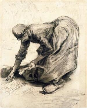 Peasant Woman Gleaning