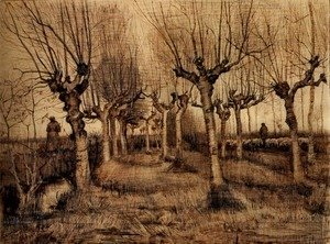 Vincent Van Gogh - Pollard Birches