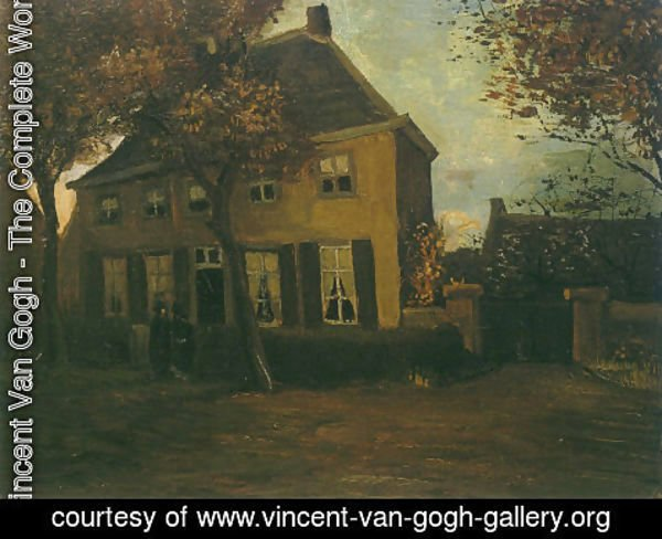 Vincent Van Gogh - Vicarage at Nuenen