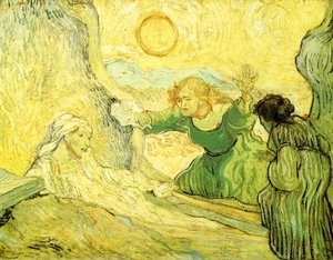 Vincent Van Gogh - Raising of Lazarus (after Rembrant)