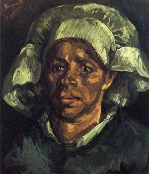 Vincent Van Gogh - Peasant Woman, Portrait of Gordina de Groot I
