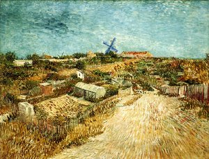 Vincent Van Gogh - Vegetable Gardens in Montmartre II