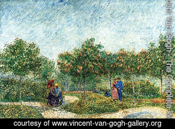Vincent Van Gogh - The Voyer d'Argenson Park in Asnieres