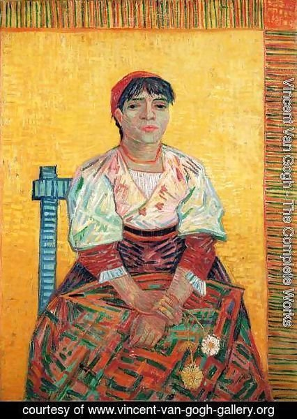 Vincent Van Gogh - The Italian Woman