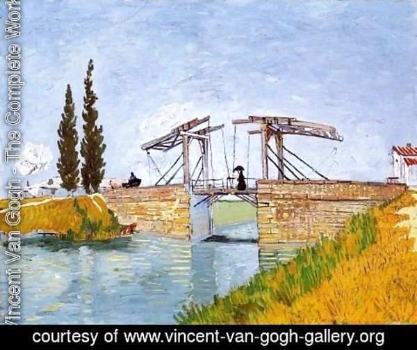 Vincent Van Gogh - The Langlois Bridge
