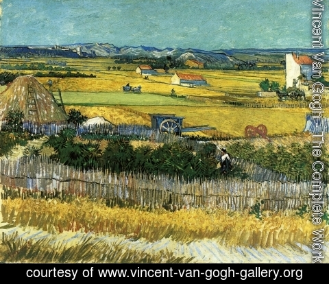 Vincent Van Gogh - The Harvest