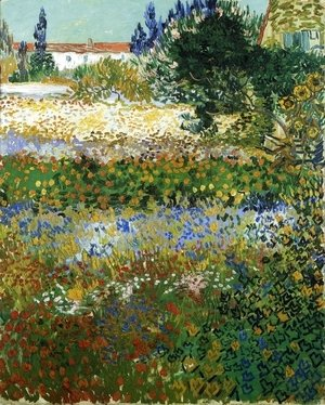Vincent Van Gogh - Garden with Flowers I