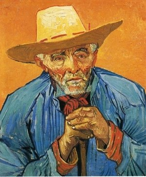 Vincent Van Gogh - The Peasant, Portrait of Patience Escalier