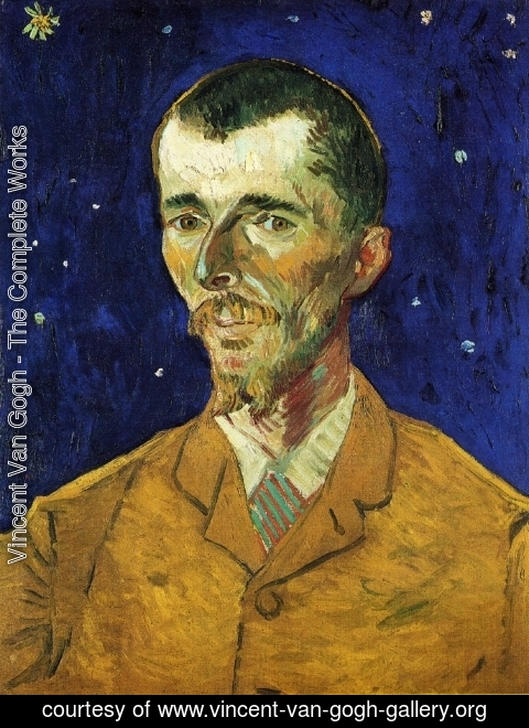 Vincent Van Gogh - The Poet, Portrait of Eugene Boch