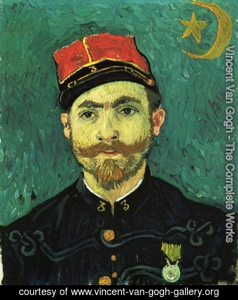 Vincent Van Gogh - The Lover, Portrait of Paul--Eugene Milliet