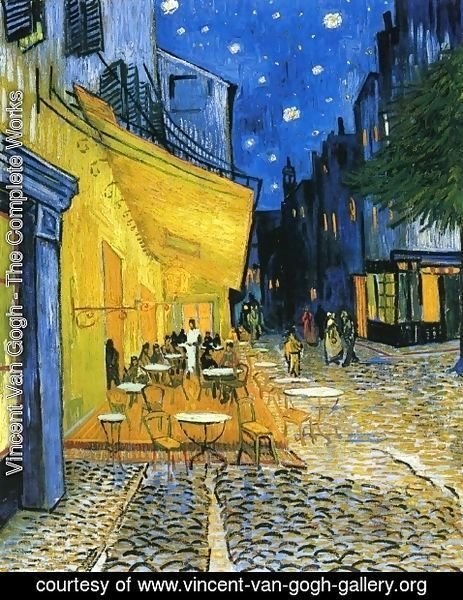 Vincent Van Gogh - Cafe Terrace on the Place du Forum