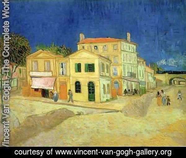 Vincent Van Gogh - The Street, the Yellow House
