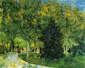 Vincent Van Gogh - Avenue in the Park