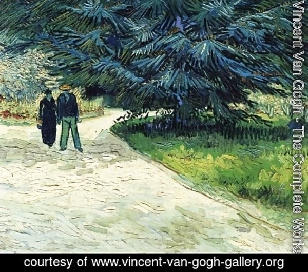 Vincent Van Gogh - The Poet's Garden