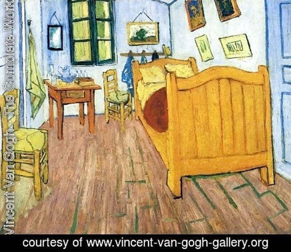 Vincent Van Gogh - Vincent's Bedroom in Arles