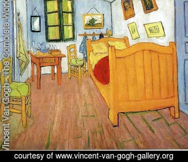 Vincent Van Gogh - Vincent's Bedroom in Arles I