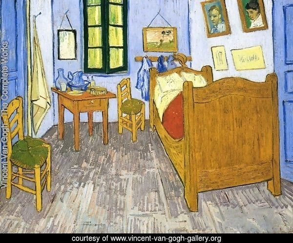 Vincent's Bedroom in Arles II