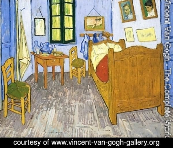 Vincent Van Gogh - Vincent's Bedroom in Arles II