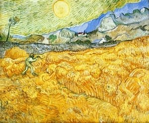 Vincent Van Gogh - The Reaper II