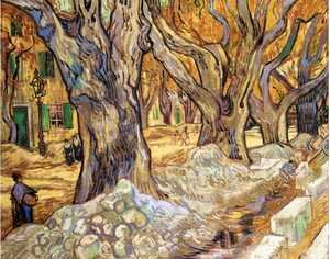 Vincent Van Gogh - Large Plane Trees