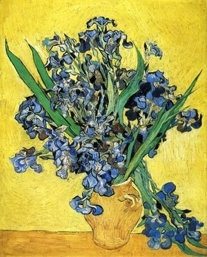 Vincent Van Gogh - Still Life with Irises