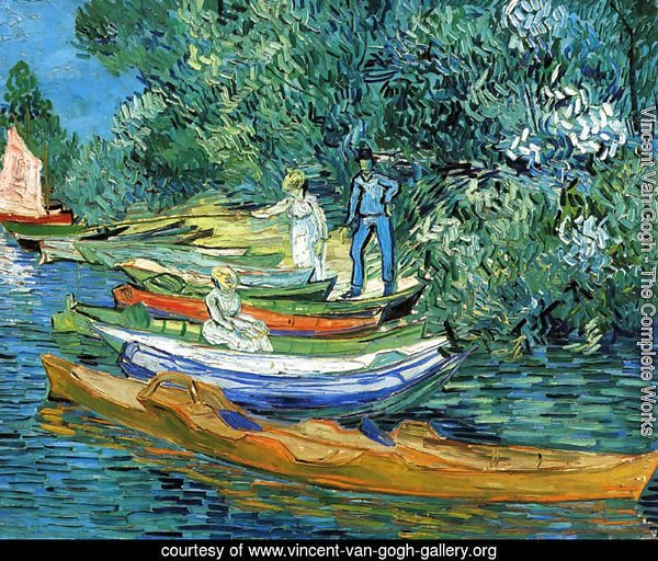 Rowing Boats on the Banks of the Oise