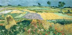 Vincent Van Gogh - Wheatfields