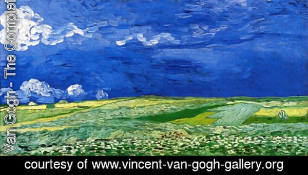 Vincent Van Gogh - Wheatfields under a Clouded Sky
