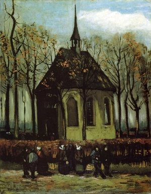 Vincent Van Gogh - Chapel at Nuenen