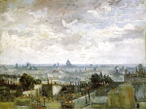 Vincent Van Gogh - The Roofs of Paris