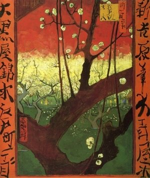 Vincent Van Gogh - Japonaiserie (after Hiroshige)