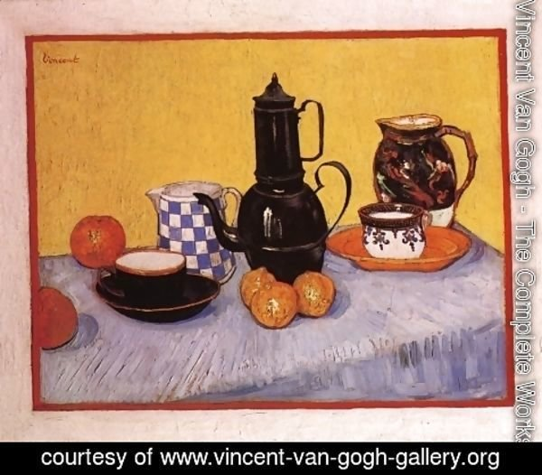 Vincent Van Gogh - Still Life with Coffeepot