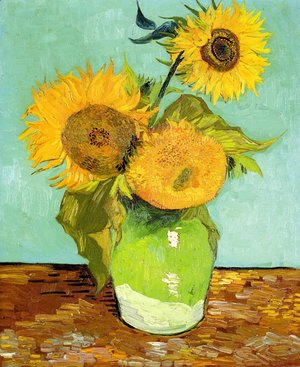 Vincent Van Gogh - Sunflowers 2