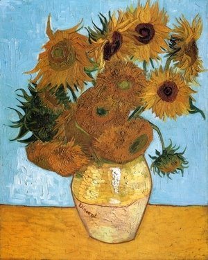 Vincent Van Gogh - Sunflowers I