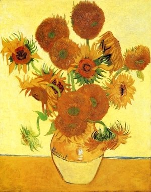 Vincent Van Gogh - Sunflowers II