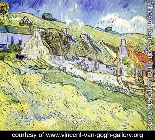Vincent Van Gogh - A Group of Cottages