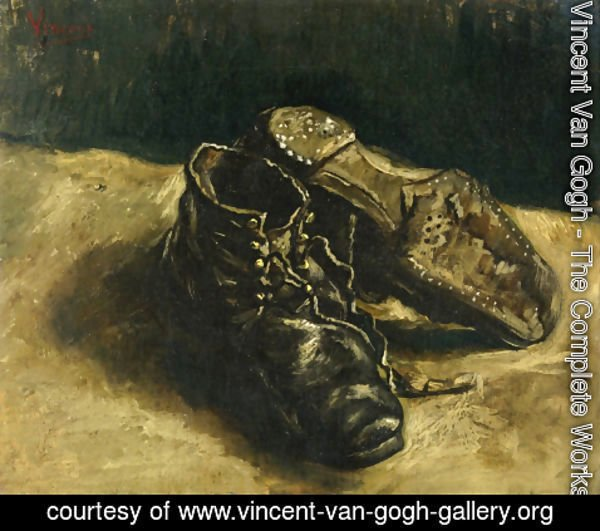Vincent Van Gogh - A Pair of Shoes II